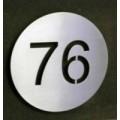 huisnummers in Inox of RVS